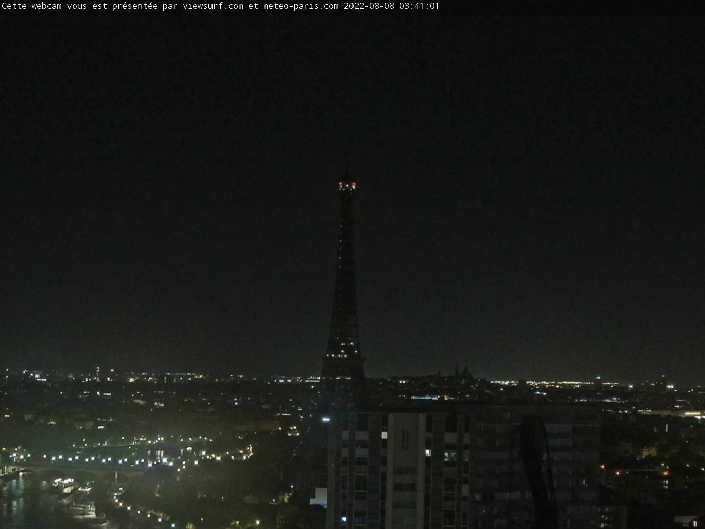 Paris Eiffelturm webcam Live