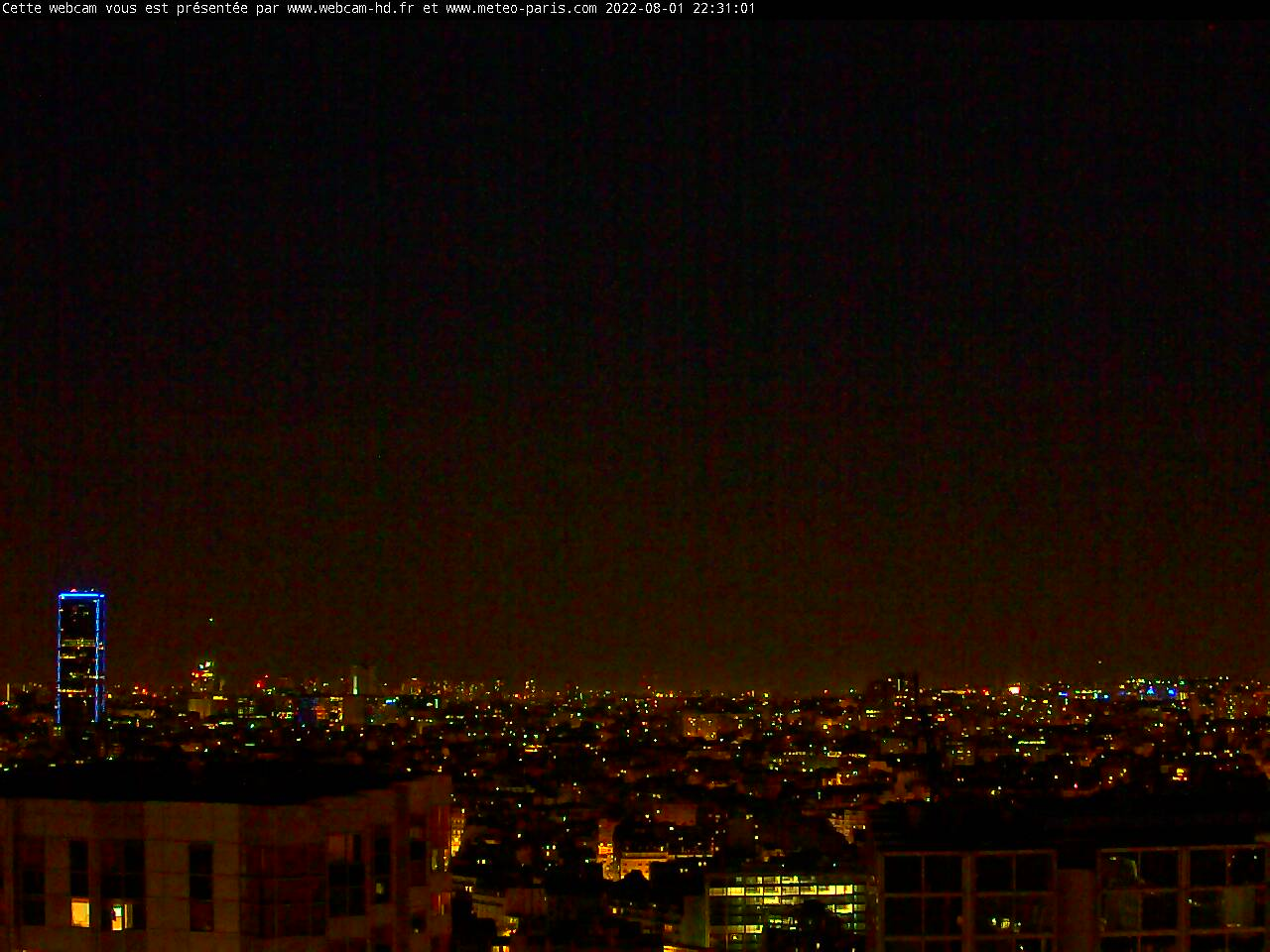 notre webcam de Paris Montparnasse